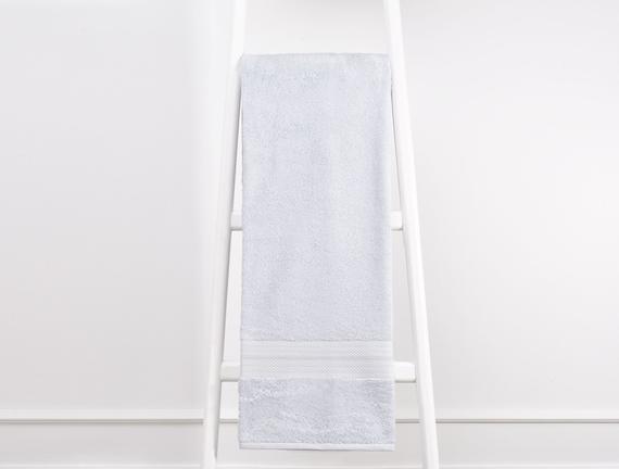 Tek Renk Havlu - Mavi - 70x140 cm