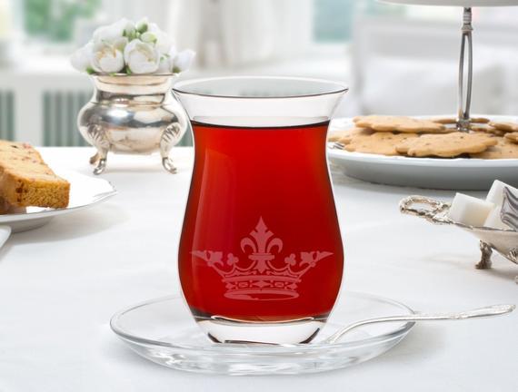 Royal 6'lı Çay Bardağı