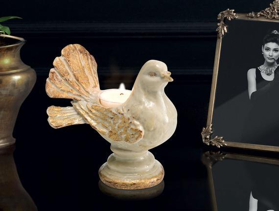 Mumluk Güvercin - Ekru