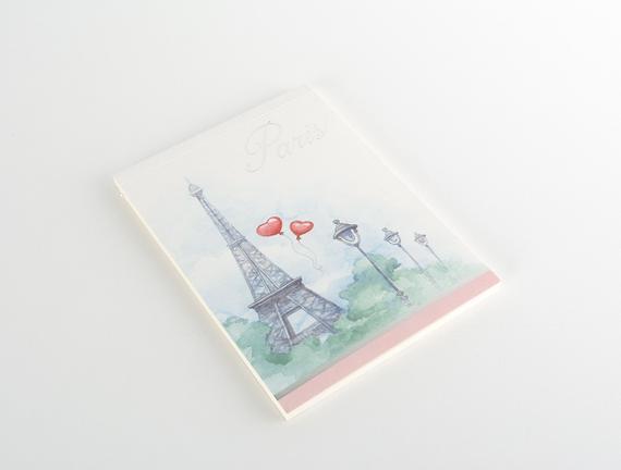 Paris Bloknot - Gri