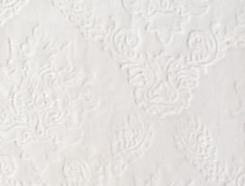 Emboss Banyo Paspası - Ekru