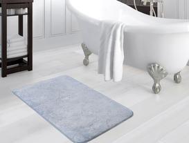 Emboss Banyo Paspası - İndigo