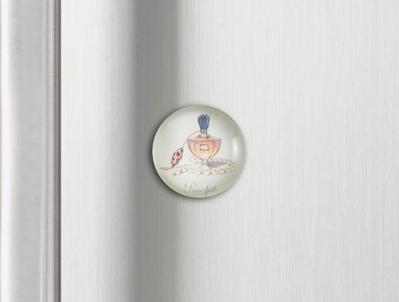Buzdolabı Magneti - Parfüm Şişesi