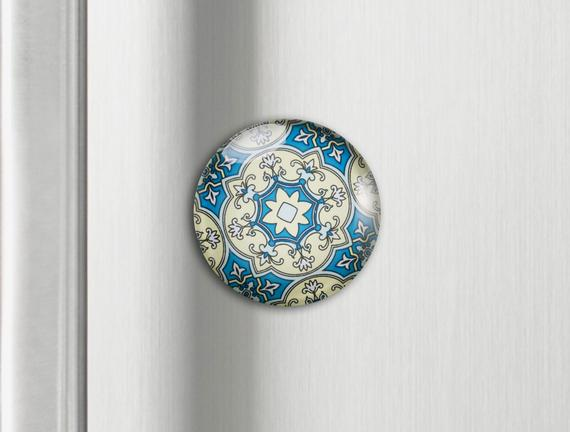 Buzdolabı Magneti - Otantik Desen
