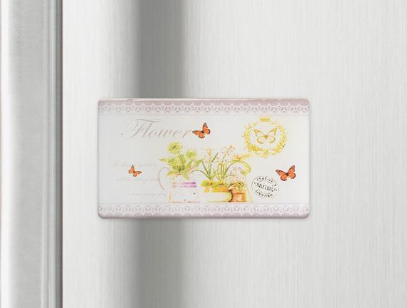 Buzdolabı Magneti - Çiçek
