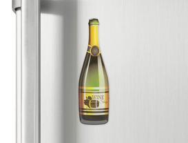 Buzdolabı Magneti - Kırmızı Şarap