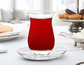 Brigett 6'lı Çay Bardağı