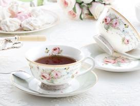 New Bone China 2'li Çay Fincanı Seti