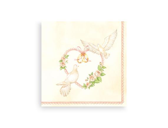 Güvercin Desenli Peçete