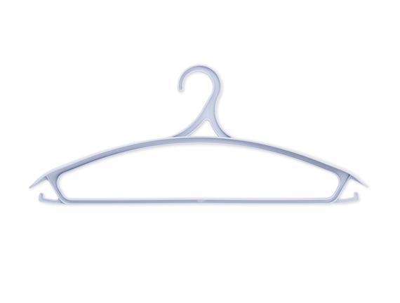 3'lü Elbise Askısı - Mavi