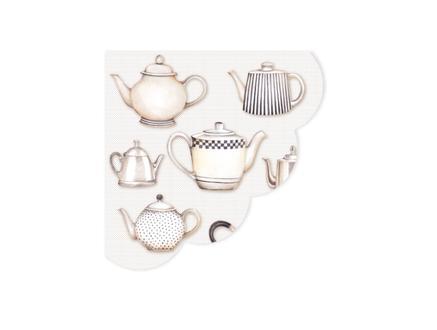 Çaydanlık Desenli Peçete