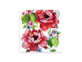 Çiçek Desenli Peçete