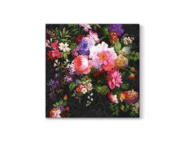 Renkli Çiçek Desenli Peçete