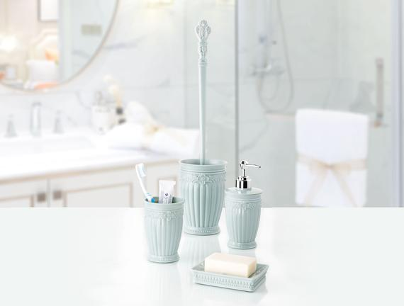 Solange 4'lü Banyo Seti - Yeşil