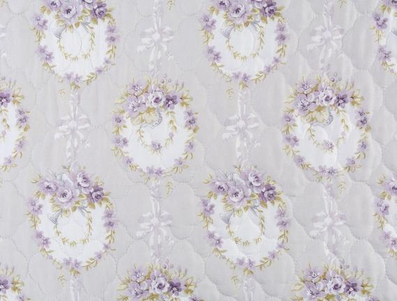 Rose Violet Tek Kişilik Yatak Örtüsü Seti - Taş