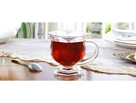 Adele 6'lı Çay Fincanı Seti