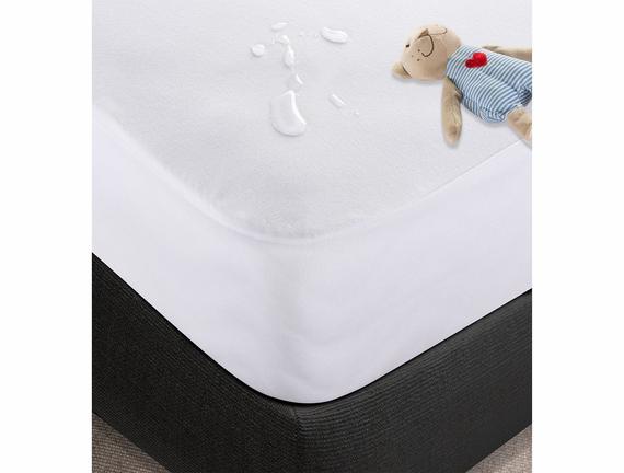 Sıvı Geçirmez Köşe Lastikli Bebek Yatak Alezi