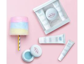 Macaron Serisi Kozmetik Seti Pamuk Şeker