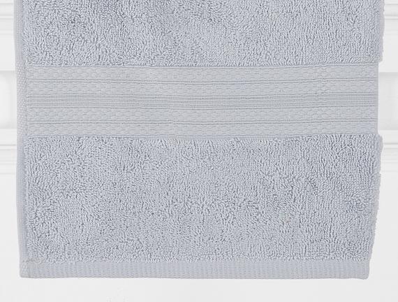 Arcadia El ve Yüz Havlusu - Mavi - 50x80 cm