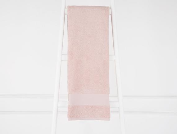 Amerikan Banyo Havlusu - Pudra - 70x140 cm