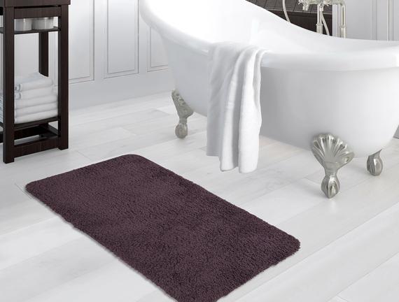 Sheep Banyo Paspası - Koyu Mürdüm