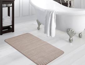 Flanel Banyo Halısı - Taş