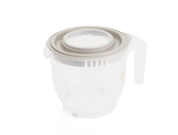 Covered Mixer Container 2200 Ml