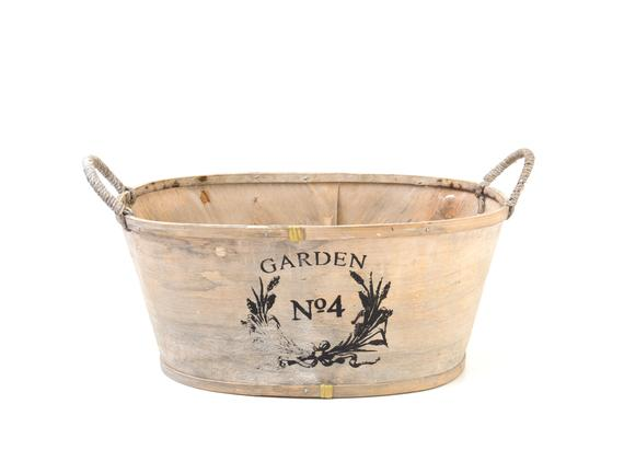 Wooden Basket 14R634