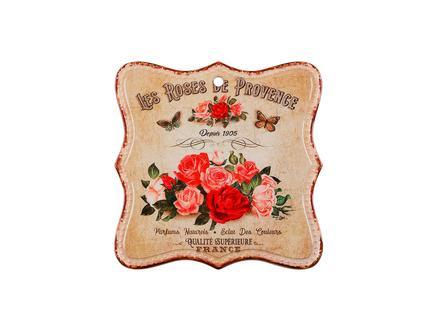 Enjoue Rose Kare Nihale - Kırmızı