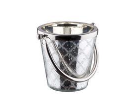 Vintage Cam Vazo - Silver