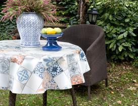 Silinebilir Masa Örtüsü - Mavi