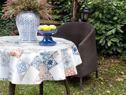 Pilanteur Silinebilir Masa Örtüsü - Mavi