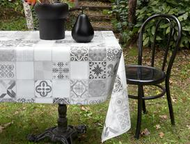 PVC Masa Örtüsü - Siyah