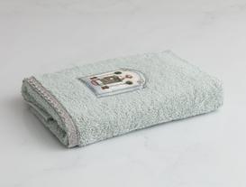 Armoires Vertes Dijital Baskılı Nakışlı Havlu 50X76 cm