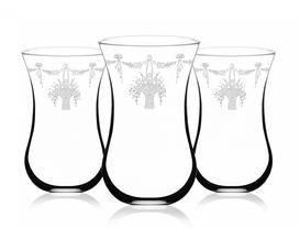 Flower Basket 6'lı Bohemia Kristal Çay Bardağı
