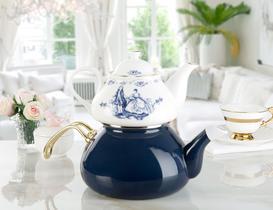Royale Bleu Çaydanlık