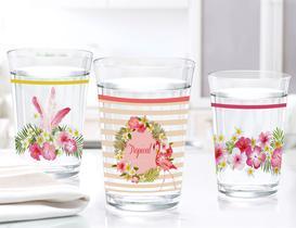Flamingo 3'lü Su Bardağı Seti
