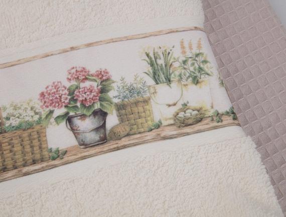 Hasır Baskılı İkili Mutfak Havlusu 40 x 60 cm