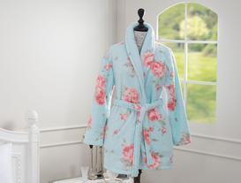 Maranne Bayan Baskılı Wellsoft Kimono Bornoz