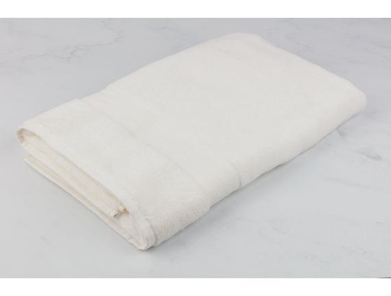 Amerikan Banyo Havlusu - Ekru - 90x150 cm