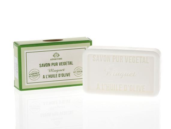 RÉPERTOIRE  Katı Sabun - Savon de Marseille (Zeytinyağlı) 100 g Muguet (Müge)