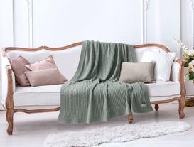 Triko Battaniye Mint Yeşili