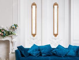 Windsor Ayna - Altın