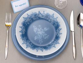Roesia Yemek Tabağı - Mavi