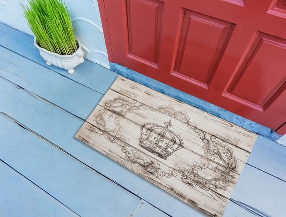 Desen 17 Kapı Önü Paspası 45x75cm