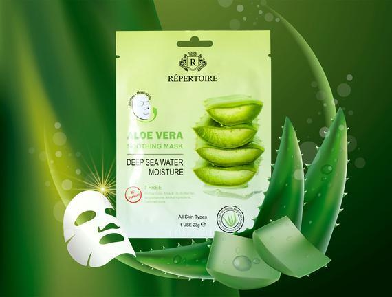 Répertoire Aloe Vera Ekstreli Nemlendirici Maske 23 gr