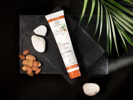 RÉPERTOIRE Yağlı Saçlar için Saç Kremi 200 ml Almond Oil (Badem Yağı)