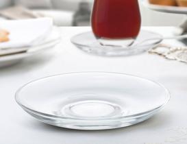 Opaline 6'lı  Çay Tabağı