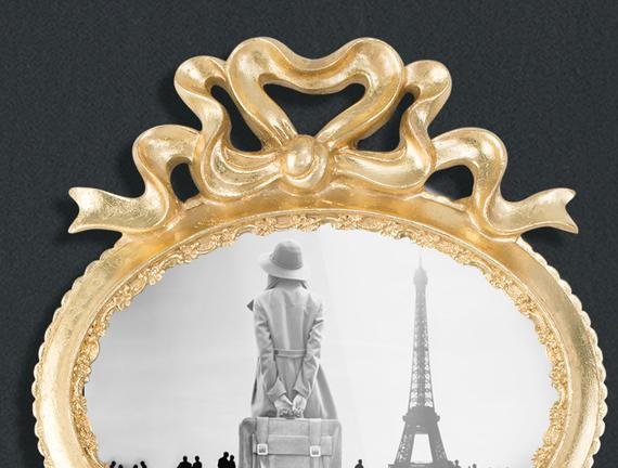 Boucles d'or Altın Varaklı 2'li Bukleli Çerçeve - Gold