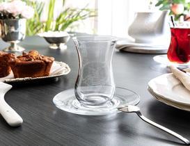 Reverans 6'lı Bohemia Kristal Çay Bardağı